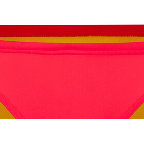 arena Free Brief Damen fluo red-yellow star